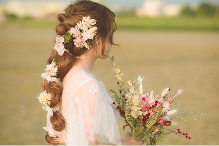 日系風格新娘造型