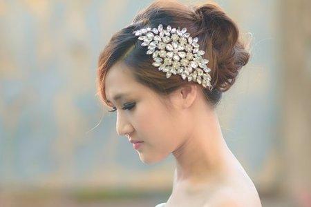氣質典雅韓系風格白紗造型分享