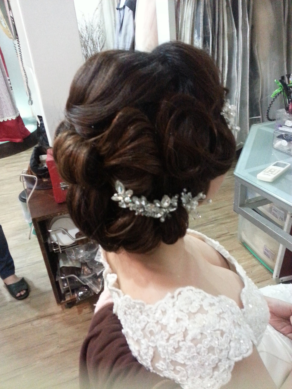 【造型作品-秀玲。】(編號:428806) - 整體造形師-瑩榛 春之嫁衣 - 結婚吧一站式婚禮服務平台