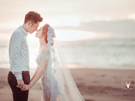 【逆光婚紗】綿谷就是愛逆光_Wedding