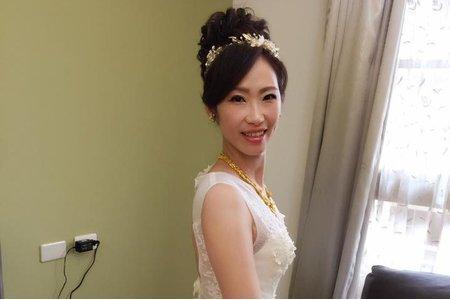 Vivian新娘秘書整體造型-噴槍彩妝-慧雯