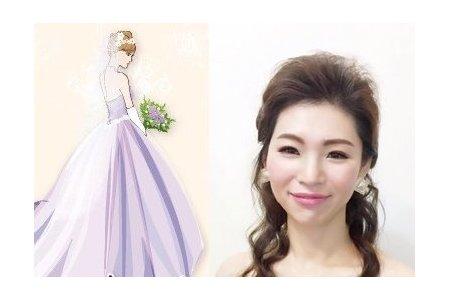 訂婚/結婚.新娘整體造型