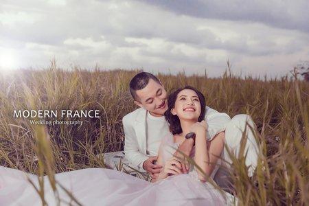 現代法國MF WEDDING │小清新
