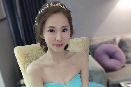 時尚大側分 新娘怡芳