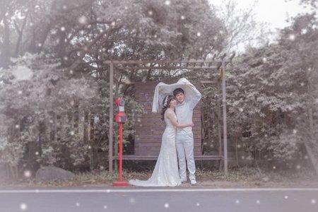 怡君-婚紗外拍造型(翁詩涵造型彩妝工作室)