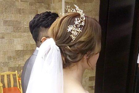 新娘造型(翁詩涵造型彩妝工作室)