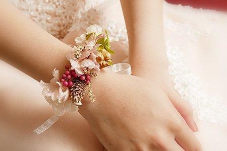 客製化新娘乾燥花飾品精選(台北 花蓮 全台新秘)翁詩涵造型彩妝工作室