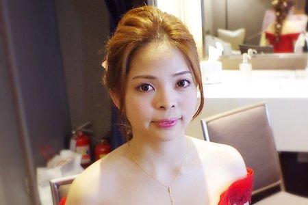 文訂結婚造型(台北 花蓮 全台新秘)翁詩涵造型彩妝工作室