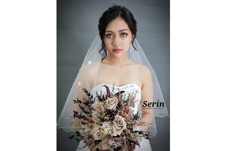 Serinstyle/170808/歐美新娘造型