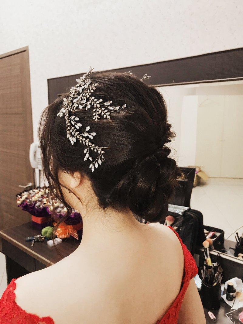 新娘單妝髮作品