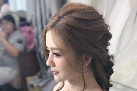 宴客造型精選-2,Joye makeup 新娘專業造型,新秘