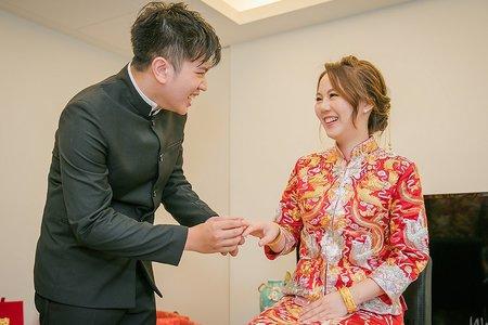 【婚禮】自宅 /中式文訂+迎娶