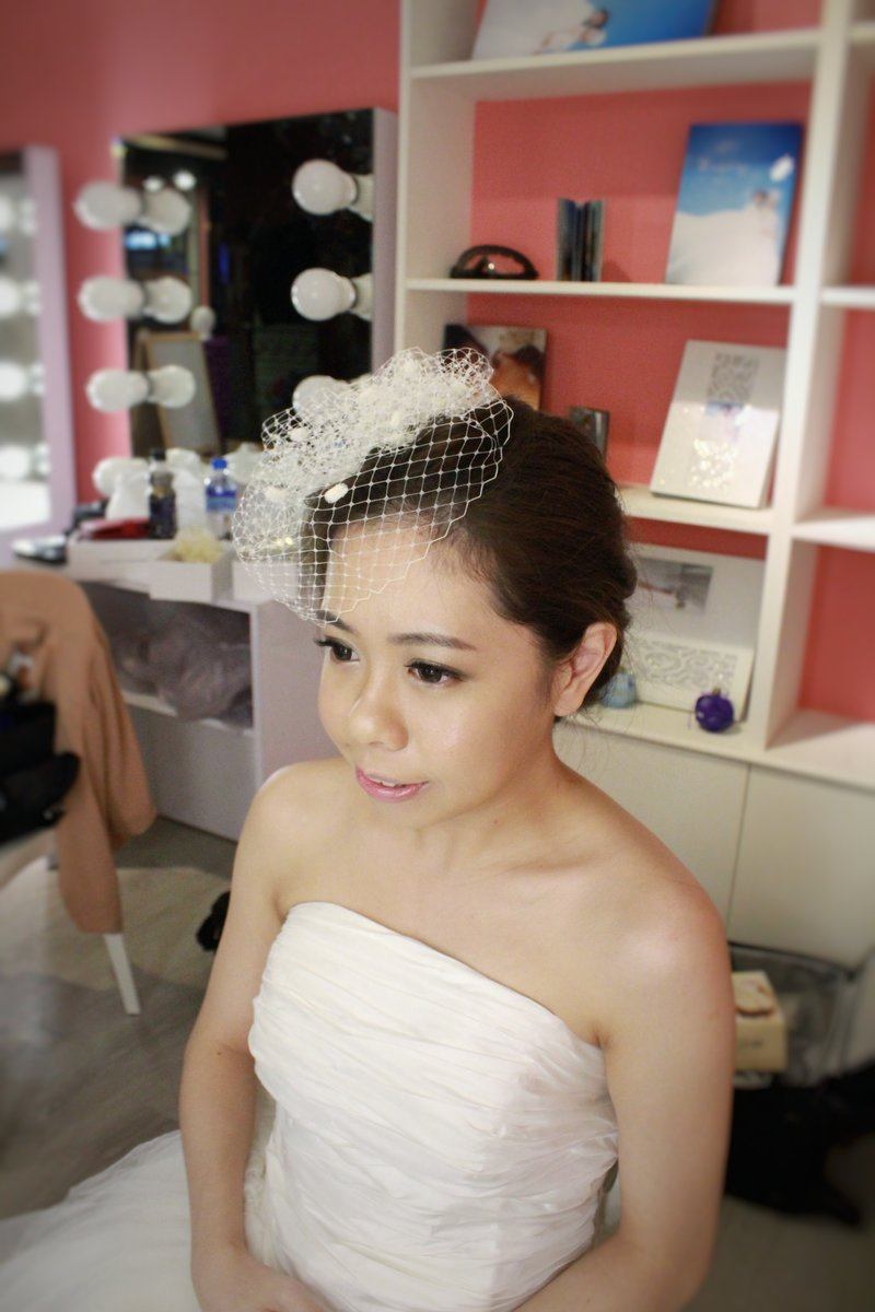 新娘訂結婚宴客造型