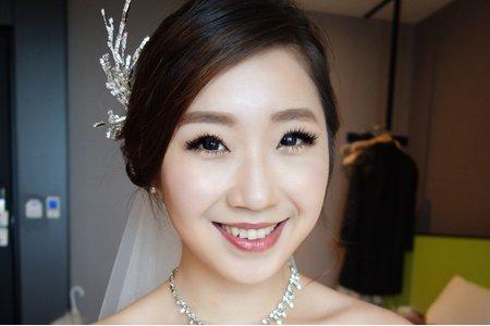 Chi Makeup整體造型-詩柔白紗