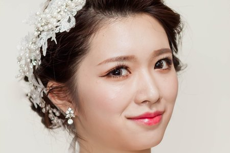 Chi Makeup整體造型-清新精緻韓風妝容