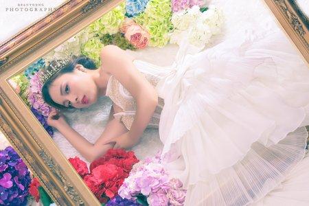 Chi Makeup 整體造型 - 短髮 寵物婚紗