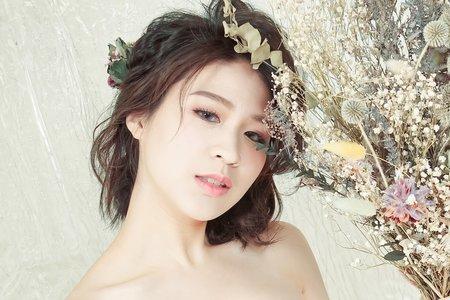 韓系短髮也很俏麗