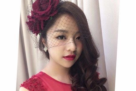 20170227-時尚新娘妝髮