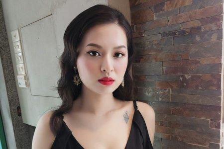 20180305-春酒妝髮