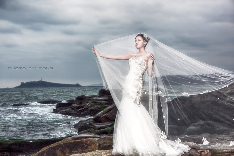 水滴攝影自助婚紗包套作品
