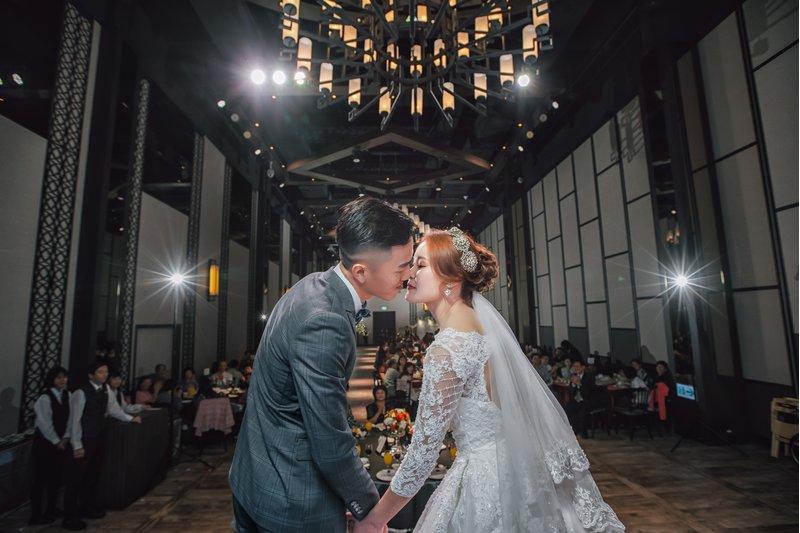 在彭園會館八德館舉辦我們專屬的婚禮