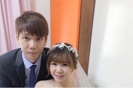 2016/12/25台南迎娶嘉義午宴婉婷結婚