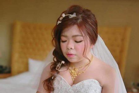 Evelyn小靜老師-淇涵新娘