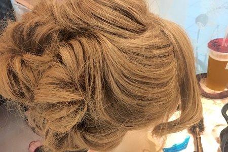 |花苞頭|_新娘髮型