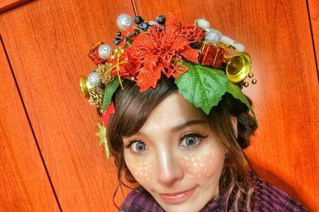 Tifa makeup ~聖誕節玩彩妝