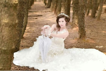 新娘秘書外拍造型