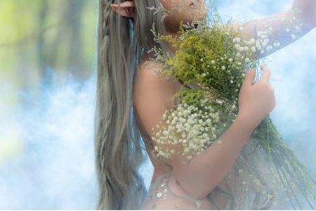 精靈婚紗造型