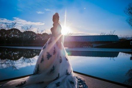 2019日本行💙 - 雪地婚紗攝影 - 1+1手工婚紗