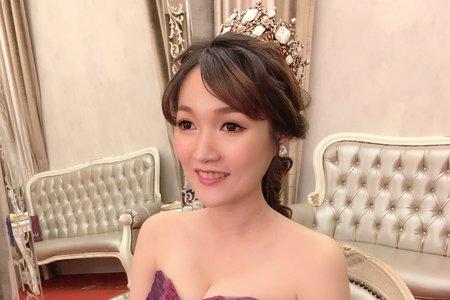 Ting婷 make up 婚宴皇冠氣勢公主造型
