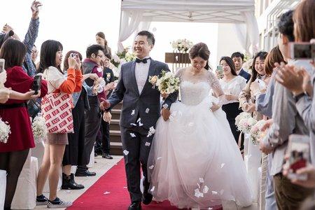 【新型態婚禮】美式婚禮戶外證婚