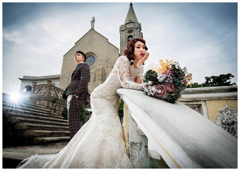 婚紗包套作品