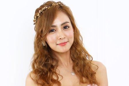 Teresa時尚新娘-噴槍底妝 粉紅公主