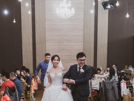 一次次的婚禮紀錄,也是一次次的溫度情感真實