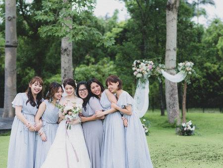 ◤你們的婚禮◢無法預測的天氣,新人也是不忘歡樂