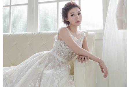 氣質白紗造型