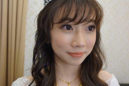 俞茹結婚造型