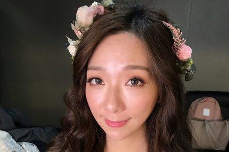 湘翎Shan makeup 仙氣自然風格
