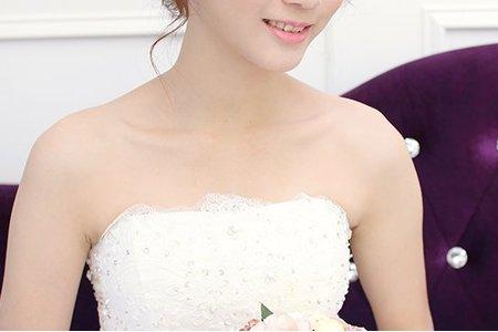 韓式新娘造型 +噴槍新娘妝