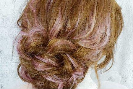 新娘示範髮型