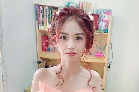 新娘單妝髮5000元
