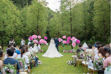 戶外婚禮場地參觀預約 享花嫁午茶