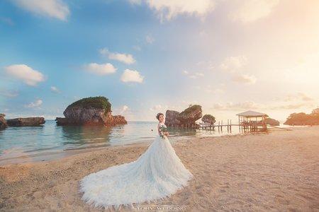 自主婚紗/婚紗攝影/江宜學/日本沖繩
