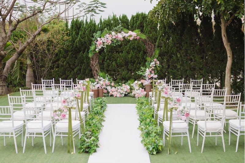 戶外婚禮,婚宴會館,婚宴場地,青青格麗絲