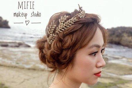 甜姐兒新娘 (附新娘好評) ?米妃Mifie's makeup studio ?