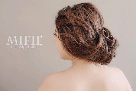 超高指定率的熱門髮型 🌸米妃Mifie's makeup studio 🌸