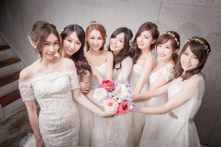 7仙女閨蜜婚紗 🌸米妃Mifie's makeup studio 🌸